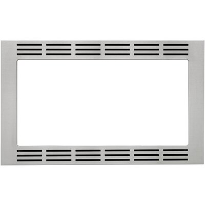 "1.6 Cu. Ft. Microwave 27"" Stainless Steel Trim Kit Product Photo"