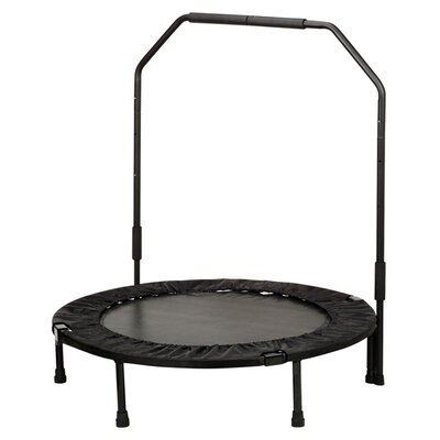 "40"" Foldable Trampoline with Stabilizing Bar Product Photo"
