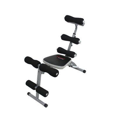 Power Ab Bench by Sunny Health & Fitness