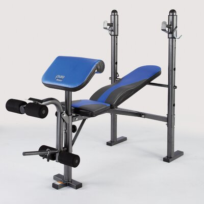 Multi-Purpose Mid Weight Adjustable Olympic Bench by Pure Fitness