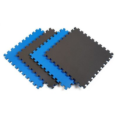 Reversible Sport Foam Mats in Blue / Gray (Pack of 4) by Norsk