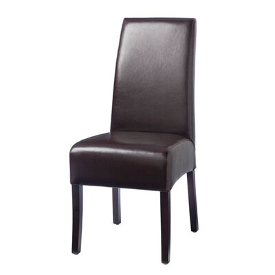 Hudson Leather Dining Chair in Brown by Palecek