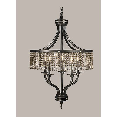 Framburg Empress 5 Light Dining Chandelier