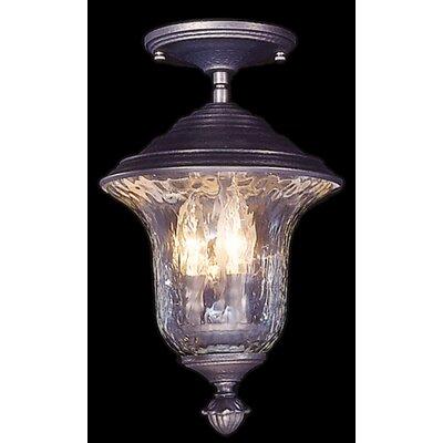 Carcassonne 3 Light Semi-Flush Mount Product Photo