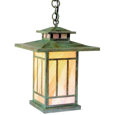 Arroyo Craftsman Kennebec 1 Light Outdoor Hanging Lantern