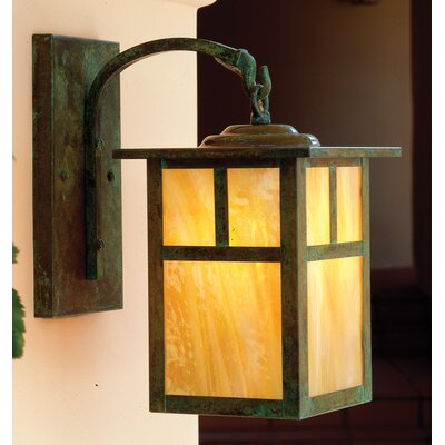 arroyo craftsman mission 1 light wall lantern reviews wayfair