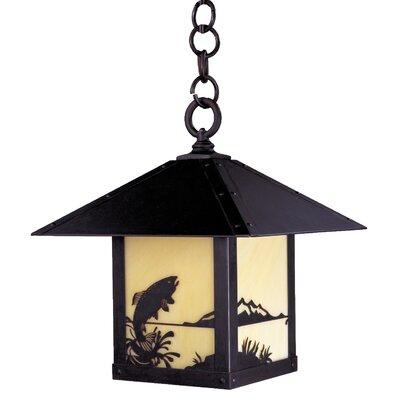 Arroyo Craftsman Timber Ridge 1 Light Outdoor Hanging Lantern