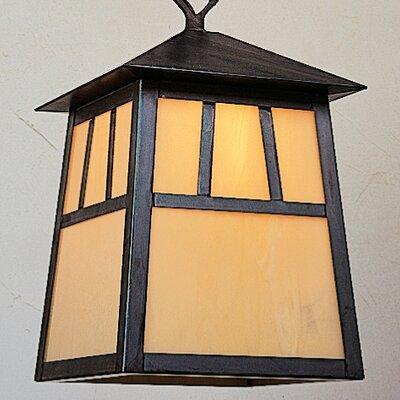 Arroyo Craftsman Raymond 1 Light Outdoor Hanging Lantern