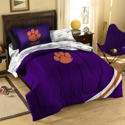 NCAA Clemson Bed in a Bag Set by Northwest Co.