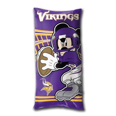 NFL Minnesota Vikings Juvenile Folded Lumbar Pillow by Northwest Co.