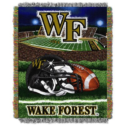 Collegiate Wake Forest HFA Woven Tapestry Throw by Northwest Co.