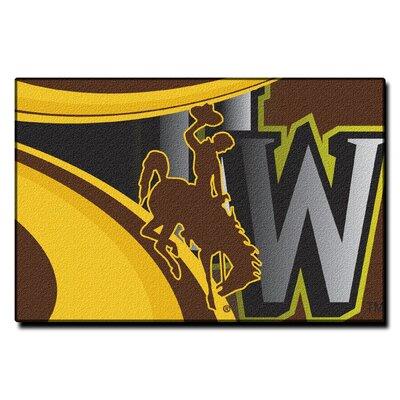 Collegiate Wyoming Cosmic Mat by Northwest Co.