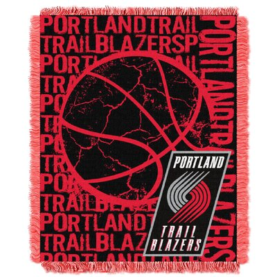 NBA Trailblazers Double Play Throw by Northwest Co.