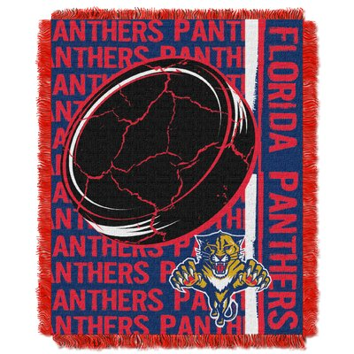 NHL Panthers Double Play Woven Throw by Northwest Co.