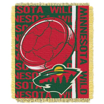 NHL Wild Double Play Woven Throw by Northwest Co.