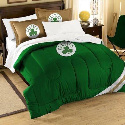 NBA Celtics 3 Piece Twin/Full Comforter Set by Northwest Co.