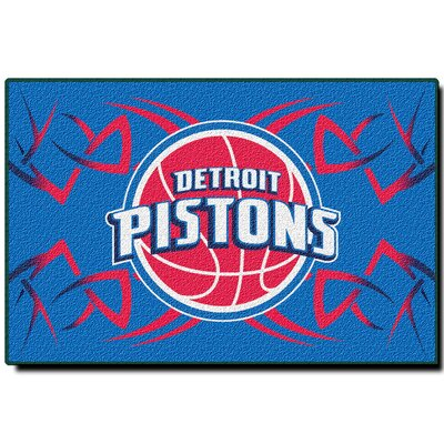 NBA Detroit Pistons 333 Novelty Rug by Northwest Co.