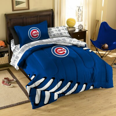 MLB Chicago Cubs 5 Piece Twin Bed in a Bag Set by Northwest Co.