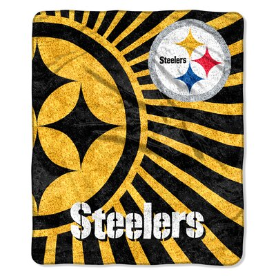 NFL Pittsburgh Steelers Sherpa Strobe Throw by Northwest Co.