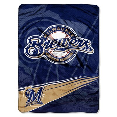 Official MLB Style 0801 Milwaukee Brewers Speed Raschel by Northwest Co.