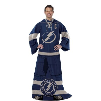 NHL Tampa Bay Lightning Full Body Comfy Fleece Throw by Northwest Co.