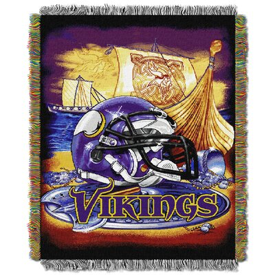 NFL Minnesota Vikings Tapestry Throw by Northwest Co.