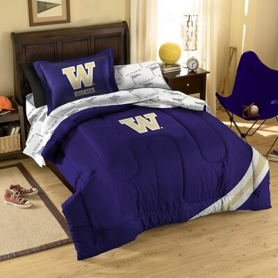 Official COL 880 Washington Twin Comforter Bed in a Bag by Northwest Co.