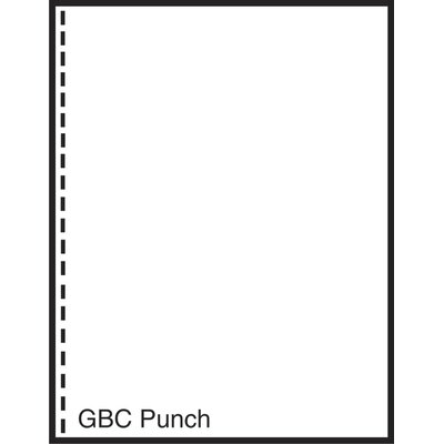 """TST Impreso 8.5"""" x 11"""" Pre-Perfed and Punched Copy Paper with GBC Style (2500 Sheets)"""