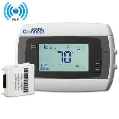Connect Programmable Digital Wi-Fi Enabled Thermostat Product Photo