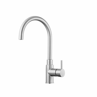 Professional Single Handle Deck Mounted Kitchen Faucet by WS Bath Collections