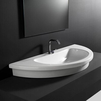 Kart Wall-mount / Drop-In / Vessel Bathroom Sink by WS Bath Collections