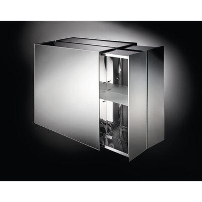 "Linea Pika 24.4"" x 22"" Surface Mount Medicine Cabinet Product Photo"