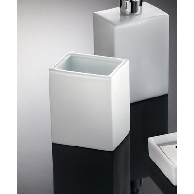 "WS Bath Collections Complements 4.1"" x 3.5"" Saon Tumbler"