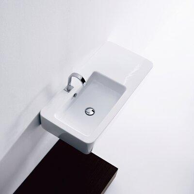 WS Bath Collections Kerasan Ego Wall Mounted / Vessel Bathroom Sink