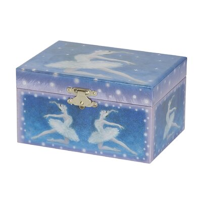 Martina Girl's Musical Ballerina Jewelry Box by Mele & Co.