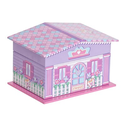 Gabby Girl's Musical Ballerina Jewelry Box by Mele & Co.