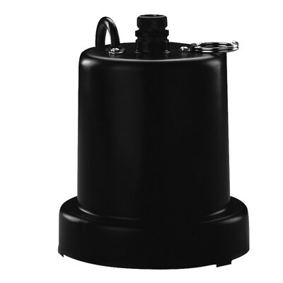 1/6 HP Heavy Duty Submersible Thermoplastic Utility Pump by WAYNE