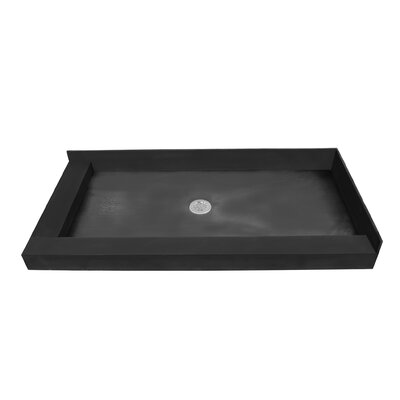 Double Curb Shower Pan Product Photo