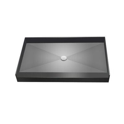 Single Curb Shower Base Product Photo