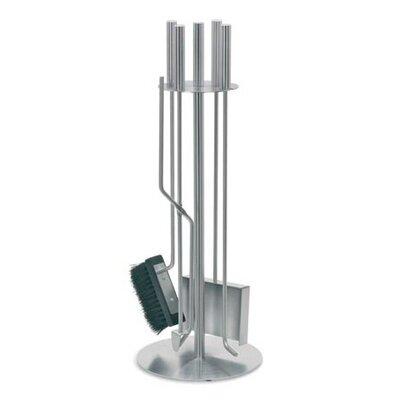 Blomus Chimo 4 Piece Stainless Steel Fireplace Tool Set
