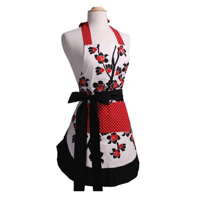 Women's Original Apron in Cherry Blossom by Flirty Aprons