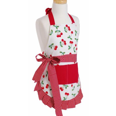 Girl's Apron in Very Cherry by Flirty Aprons
