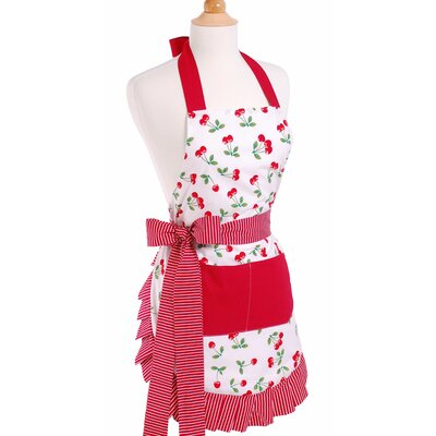 Women's Apron in Very Cherry by Flirty Aprons