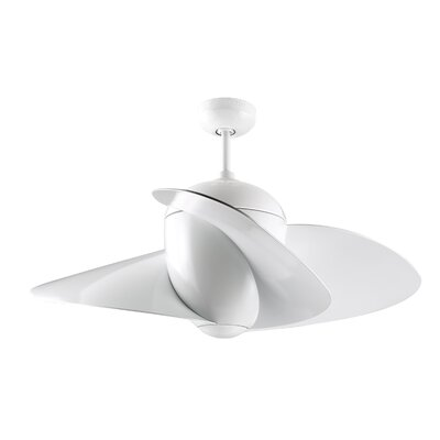 "44"" Elliptical 3 Blade Ceiling Fan Product Photo"