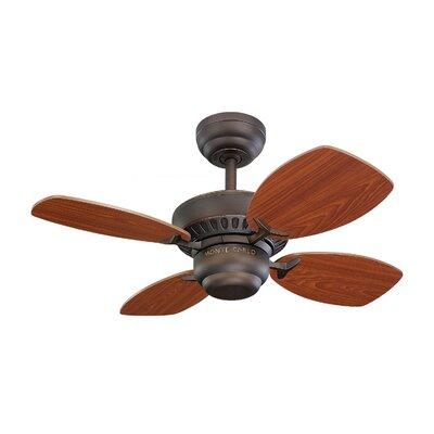 """Monte Carlo Fan Company 28"""" Colony II 4 Blade Ceiling Fan"""