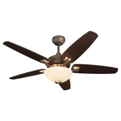 "44"" Versio II 5 Blade Ceiling Fan with Remote Product Photo"