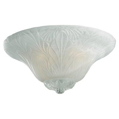 Monte Carlo Fan Company 3 Light Leaf Bowl Ceiling Fan Light Kit