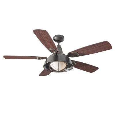 "52"" Morton 5 Blade Ceiling Fan Product Photo"