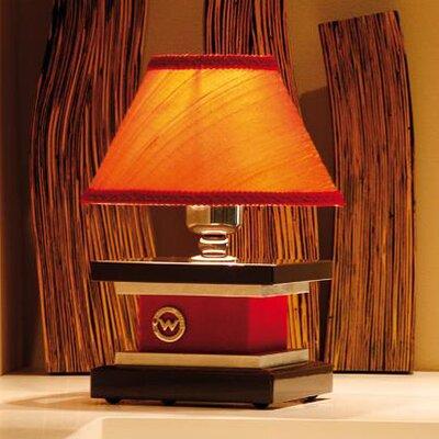 """Wemi Light Eclettica Velvet 12.2"""" H Table Lamp with Empire Shade"""