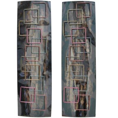 Crestview Collection 2 Piece Parker Sculpture Wall Décor Set